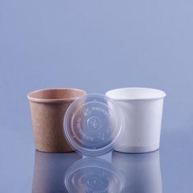 Elviteles leveses pohár/doboz tetővel