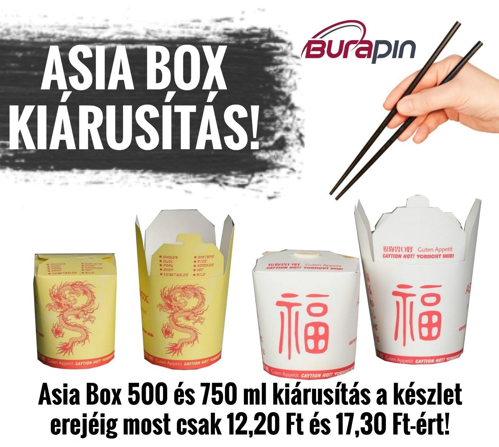 asia box akció
