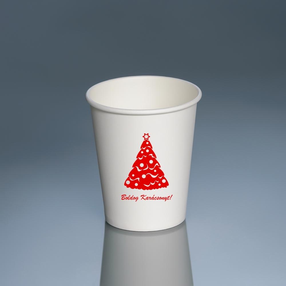 Karácsonyi pohár