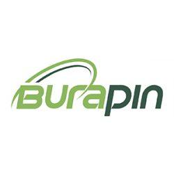 Süteményes doboz 19x19x10cm mintás kraft