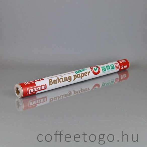 Szilikonos sütőpapír (8m)