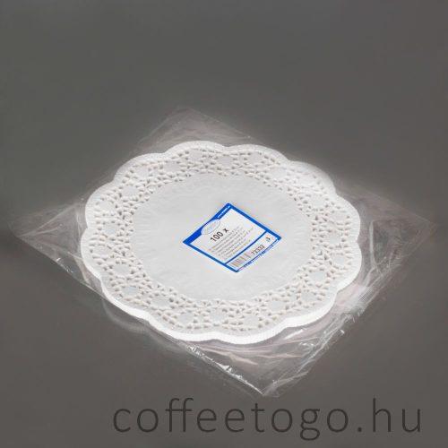 Tortacsipke kerek 32cm (zsírálló)