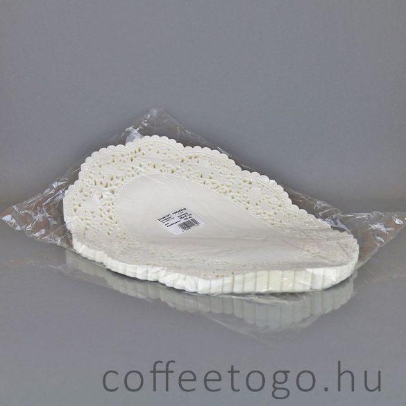Tortacsipke ovális 26 x 36cm (zsírálló)