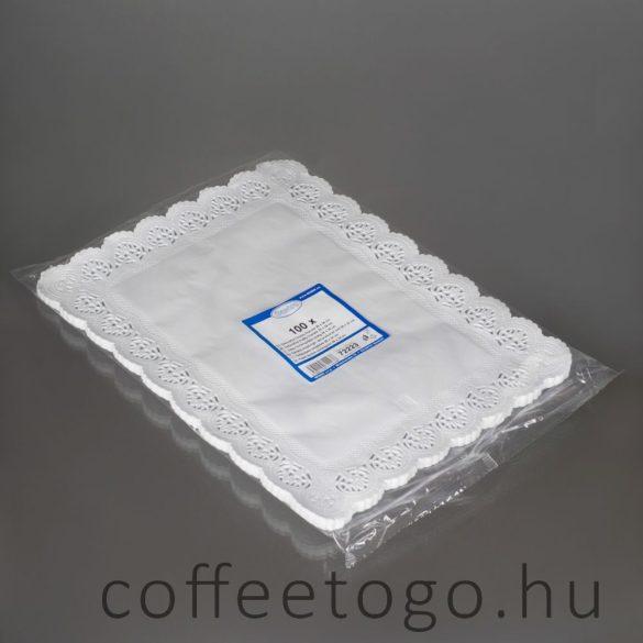Tortacsipke szögletes 26 x 37cm (zsírálló)