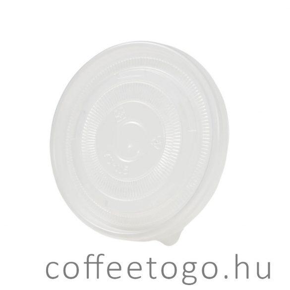 Leveses papírtégelyhez műanyag tető PP (115mm)