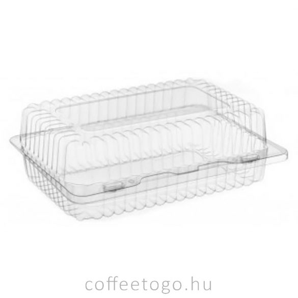 Süteményes doboz (műanyag) 24,5 x 18 x 9,7cm (K-80N)