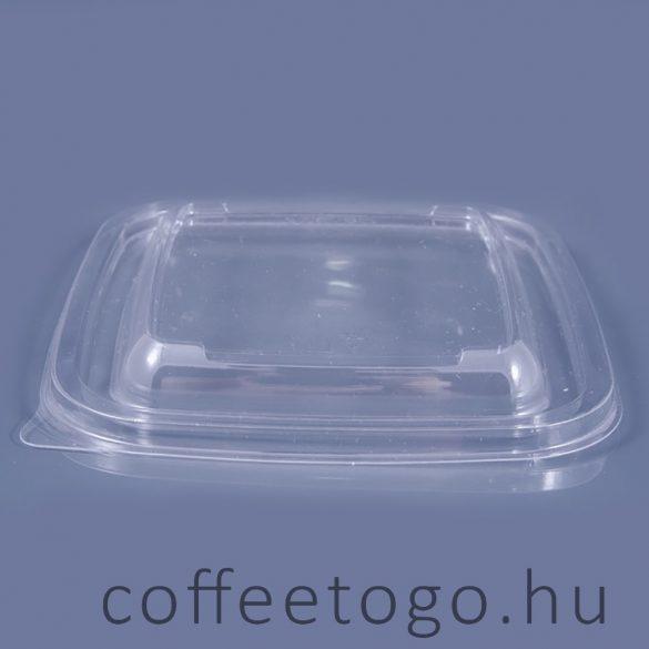 Négyzetes salátás tető 19x19cm (K)