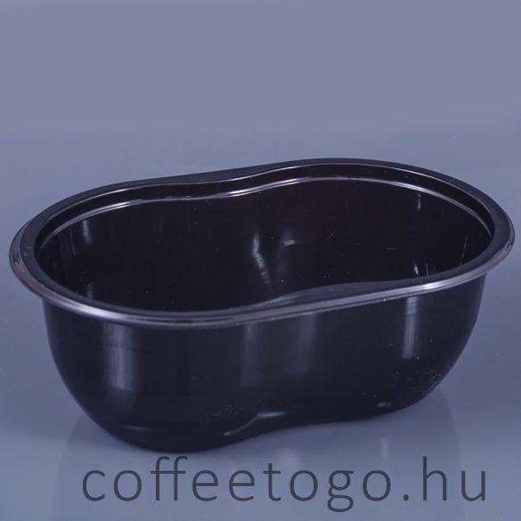 Piskóta tálka 250ml (fekete)