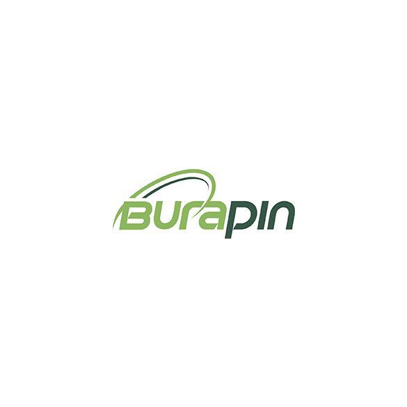 Szögletes doboz  tető 680ml-hez (víztiszta) GREEN APET