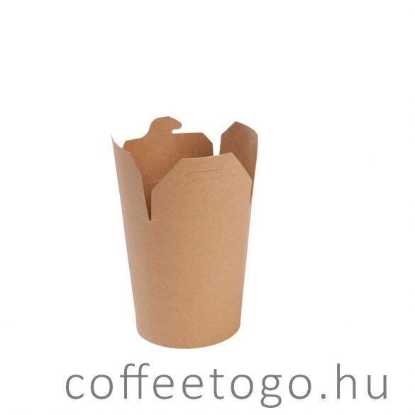 Tésztás papírdoboz 500ml FULL kraft