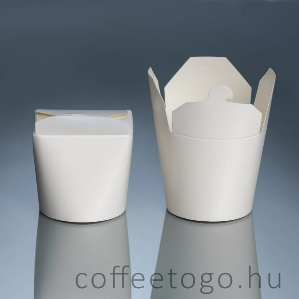 Tésztás papírdoboz 750ml (fehér)