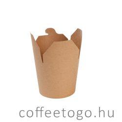 Tésztás papírdoboz 750ml FULL kraft