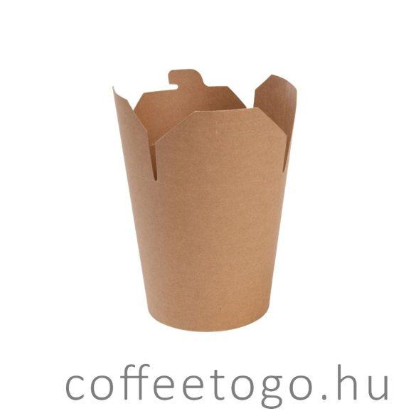 Tésztás papírdoboz 950ml (kraft)