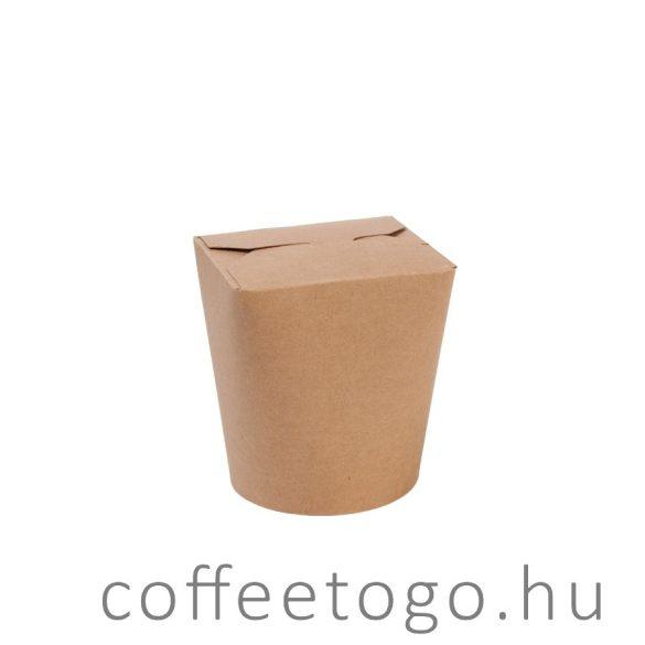 Tésztás papírdoboz 950ml kraft