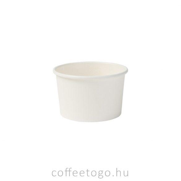 Fagyis papírpohár 130ml (fehér)