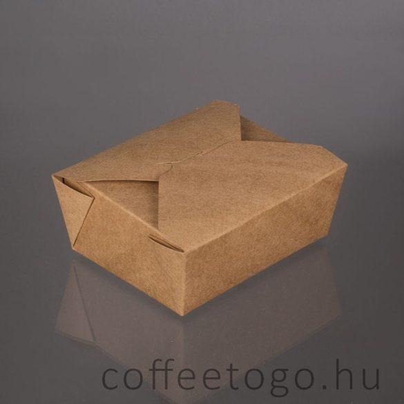 Prémium Food Box papírdoboz 1600ml (55oz)