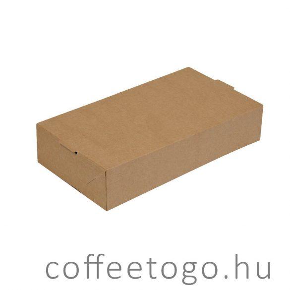 Grill Box papírdoboz 1750ml kraft, PORTION