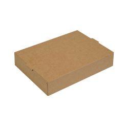 Grill Box papírdoboz 1900ml kraft, L méret