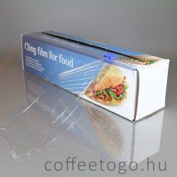 PVC csomagoló fólia, dobozban (30cm) (tépős) 150 méter