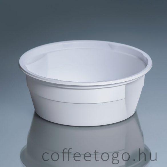 Gulyástál (tetőzhető) 500ml fehér