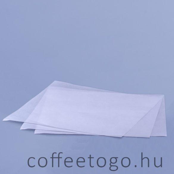 Csomagolópapír 30x30cm fehér