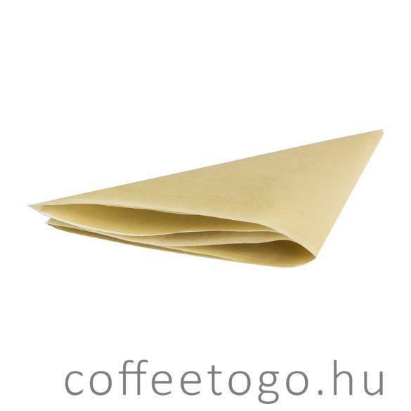 Hamburger csomagolópapír 30x30cm kraft