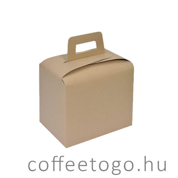 Lunchbox tO-gO füles papírdoboz 3600ml kraft