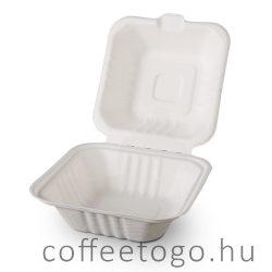Cukornád hamburger doboz 152x152x70mm HP6
