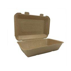 Papír menübox doboz 21,5x14,5cm kraft BP6