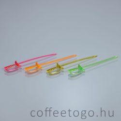 Díszítő műanyag kard (500db)