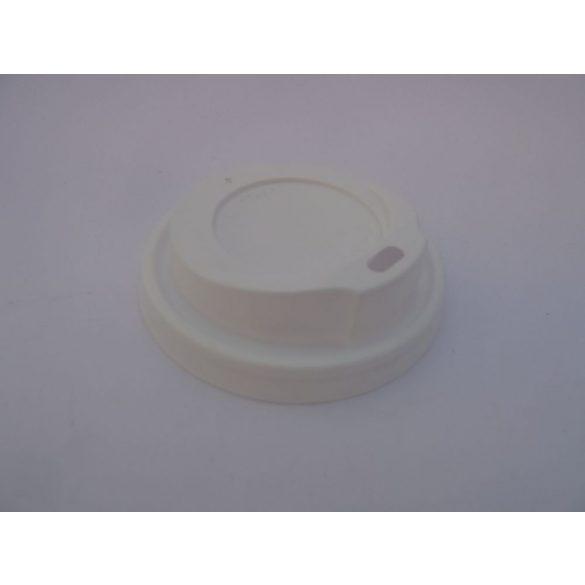 Szívószálas tető 220ml-es papírpohárhoz (80mm)