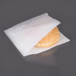 Pita / hamburger papírtasak 18x18cm fehér