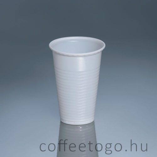 Műanyag pohár 80ml