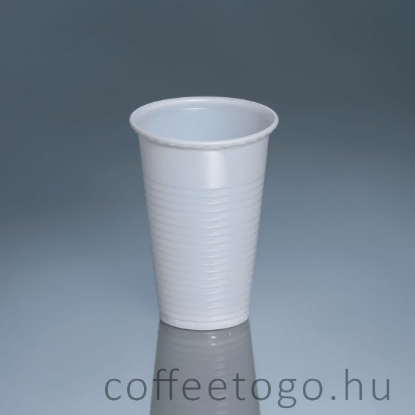 Műanyag pohár 8 cl