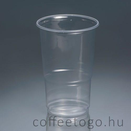 Műanyag pohár 5 dl