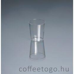 Röviditalos műanyag pohár 2-4cl