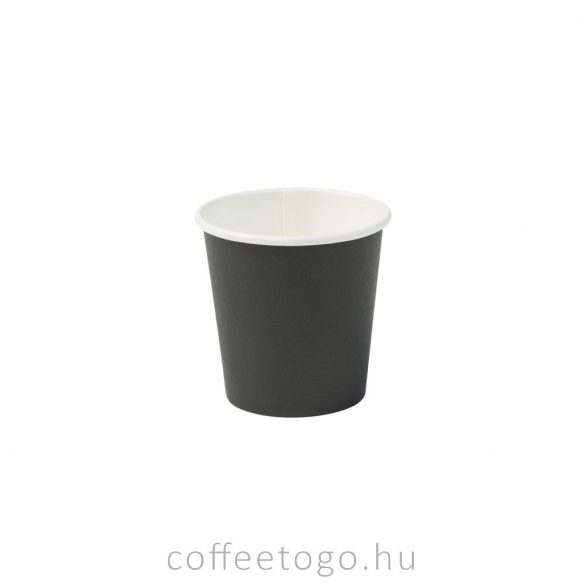 Fekete papírpohár 100ml