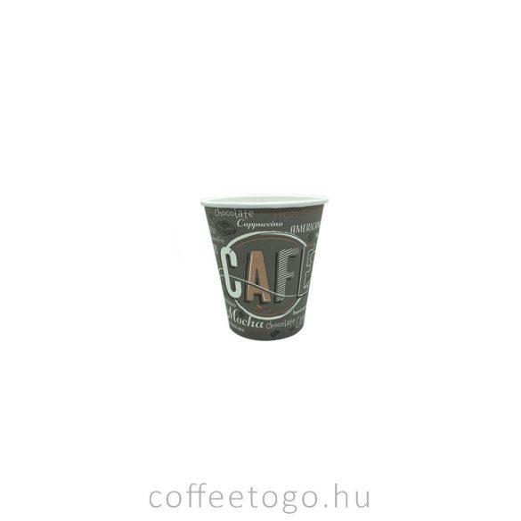 Kávés papírpohár 100ml