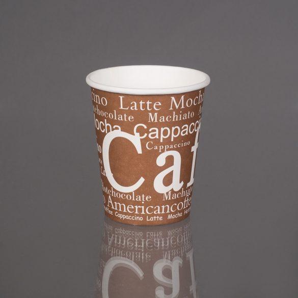 Kávés papírpohár Cafe 180ml