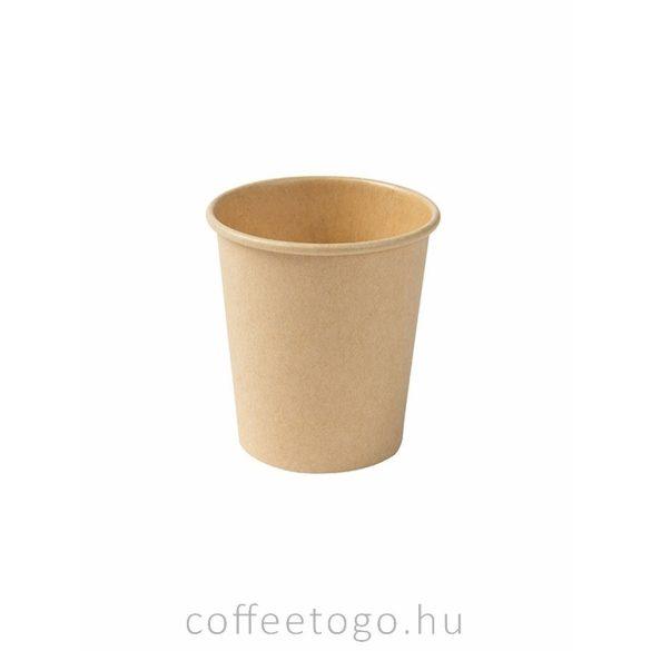 Kraft papírpohár 180ml  (70mm)