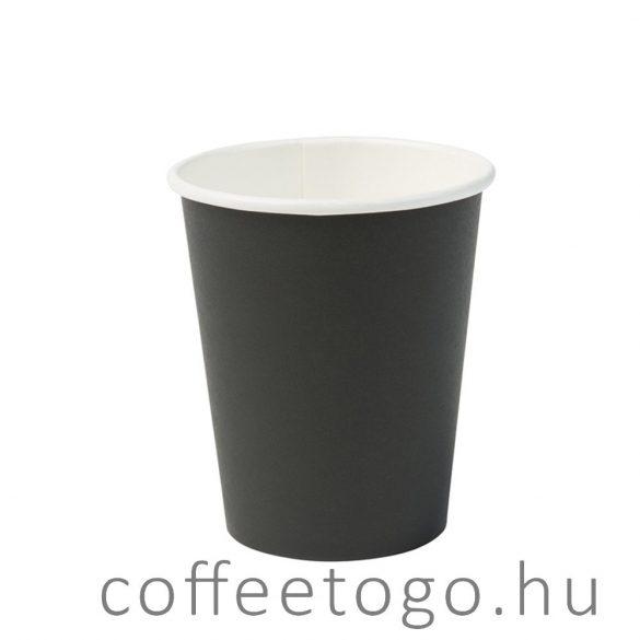 Fekete papírpohár 450ml (90mm)