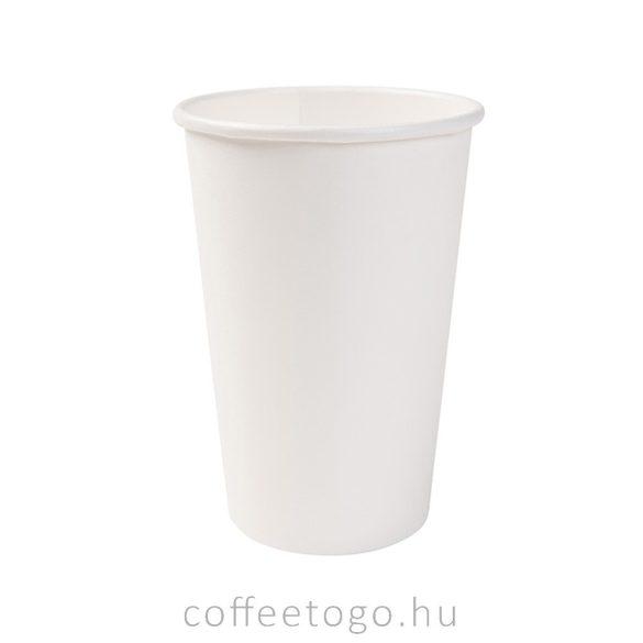 Fehér papírpohár 450ml