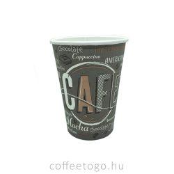 Papírpohár 450ml (90mm) COFFEE NEW
