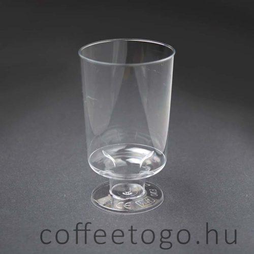 Talpas műanyag pohár 100ml