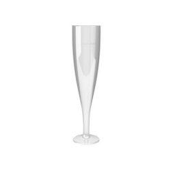 Talpas műanyag pezsgős pohár 110ml