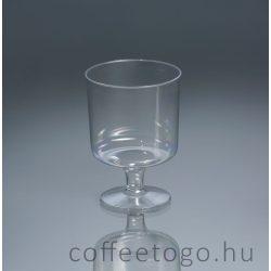 Talpas műanyag pohár 200ml