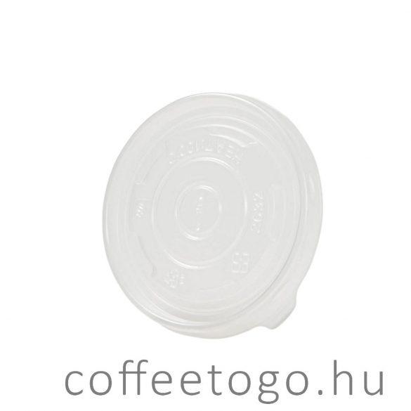 SoupToGo leveses papírpohárhoz műanyag tető (300ml/90mm)