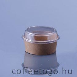 Salátás tető (papír 1300ml-es dobozra) (víztiszta)