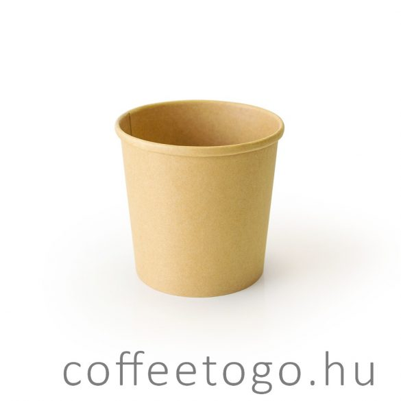SoupToGo leveses papírpohár 300ml full kraft (90mm)