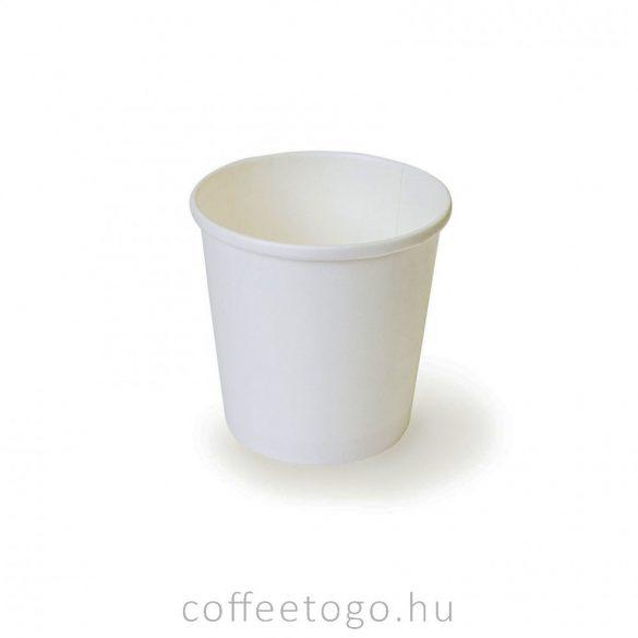 SoupToGo leveses papírpohár 500ml fehér (98mm)
